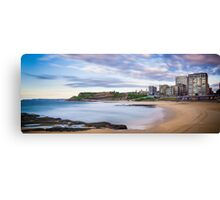 Newcastle Beach Sunrise Canvas Print