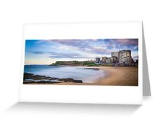 Newcastle Beach Sunrise Greeting Card