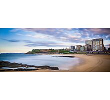 Newcastle Beach Sunrise Photographic Print