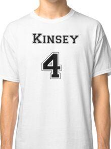 Kinsey4 - Black Lettering Classic T-Shirt