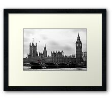 London calling... Framed Print