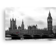London calling... Canvas Print