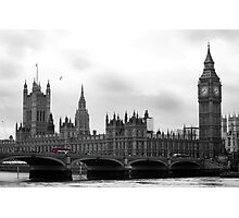 London calling... Photographic Print