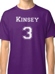 Kinsey3 - White Lettering Classic T-Shirt