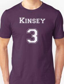 Kinsey3 - White Lettering T-Shirt
