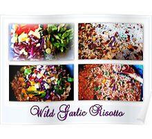 Wild Garlic Risotto Poster