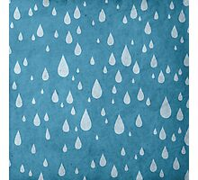 Raindrops or tears?  Photographic Print