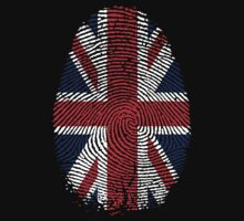 Union Jack Finger Print. by SoftSocks