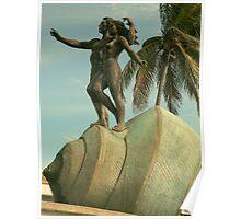 Paseo Olas Altas..............Mazatlan - Mexico. Poster