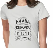 Avada kedavra Harry potter Womens Fitted T-Shirt
