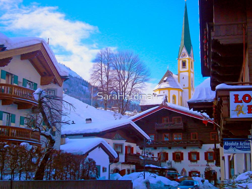 Snow in St Johan, Austria by SaraHardman