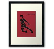 M. Jordan Framed Print