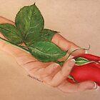 be my valentine by artbycarol