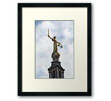 The Old Bailey Framed Print
