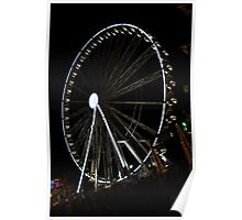 Ferris Wheel at Winter Wonderland Poster