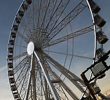 Ferris Wheel at Winter Wonderland by Chris Day