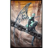 Cyberpunk Painting 008 Photographic Print