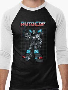 AUTOCOP Men's Baseball ¾ T-Shirt