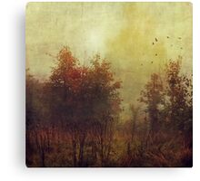 Fall Rust Canvas Print