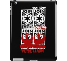 GALACTIC EMPIRE - wrong propaganda iPad Case/Skin