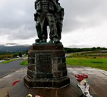 Commando Monument by Stephen Smith