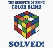 The Benefits Of Being Color Blind by Six 3