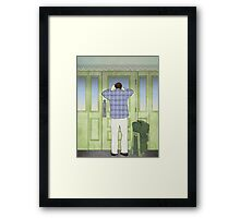 Military Homecoming Framed Print