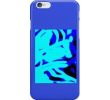 Blue Light Wave,abstract iPhone Case/Skin