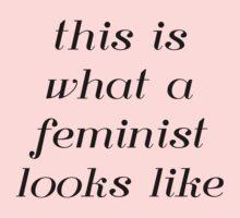 Feminist (black) by Kat Kaasila
