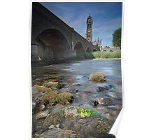 Tweed Bridge, Peebles Poster