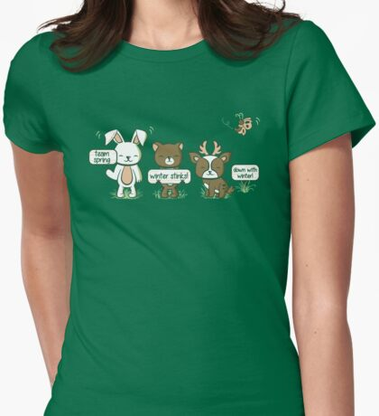 Rights of Spring Womens Fitted T-Shirt