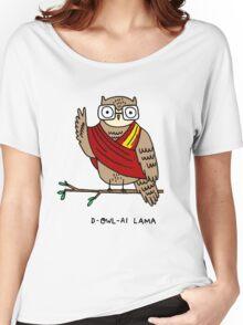 D-owl-ai Lama Women's Relaxed Fit T-Shirt