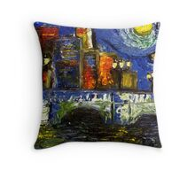 Starry Night in Dublin Throw Pillow