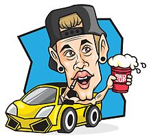 RED CUP Justin Bieber #redcupcrew by redcupcrew