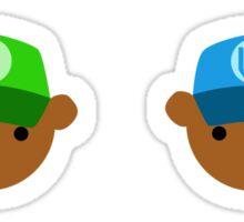 ABC Bears set - S to X - small stickers Sticker