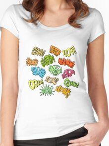 Bat Noises Women's Fitted Scoop T-Shirt