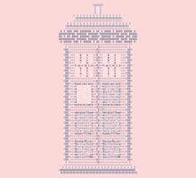 ASCII Time Machine One Piece - Long Sleeve