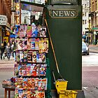 Magazine Rack by Stephen Burke