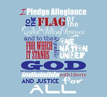 The Pledge of Allegiance  Unisex T-Shirt