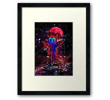 El Diablo_Pixie In The Sky Framed Print
