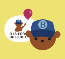 "ABC Bears ""B is for Balloon"" Kids Clothes"