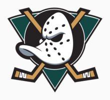 Anaheim Mighty Ducks One Piece - Short Sleeve