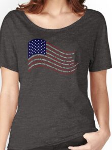 Patriotism Women's Relaxed Fit T-Shirt