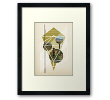 Cubed Nature Framed Print