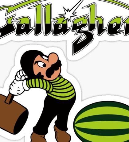 Gallagher Sticker