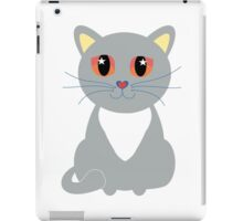Only One Gray Cat iPad Case/Skin