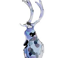 Blue Deer by joshyhow