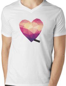 Vector Love 01 Mens V-Neck T-Shirt