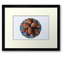 Chocolate Cake Framed Print