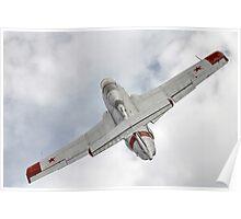 Aero L-29 Delfin Poster